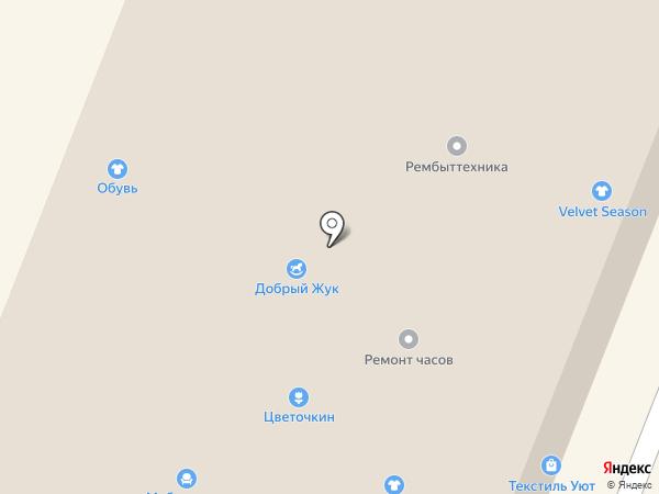 Магазин женской одежды на карте Гатчины