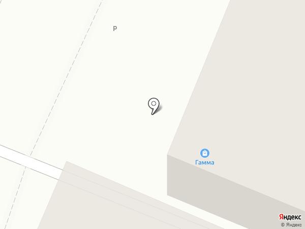 Женкрис на карте Гатчины