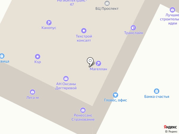 Лабиринт.ру на карте Гатчины