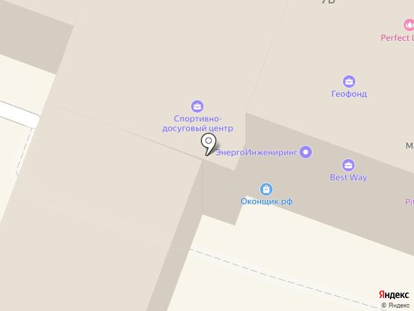 Гатчинский городской спортивно-досуговый центр, МБУ на карте Гатчины