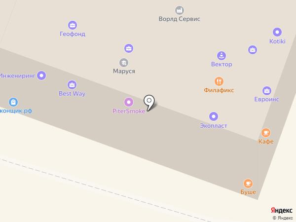 Антикварная лавка на карте Гатчины