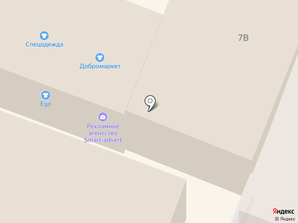 Smart-advert на карте Гатчины