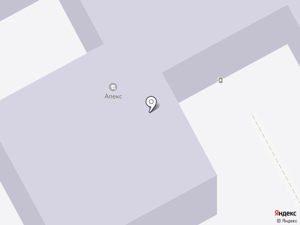 Апекс на карте Гатчины
