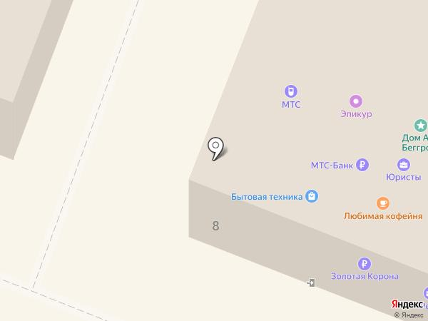 Лак на карте Гатчины