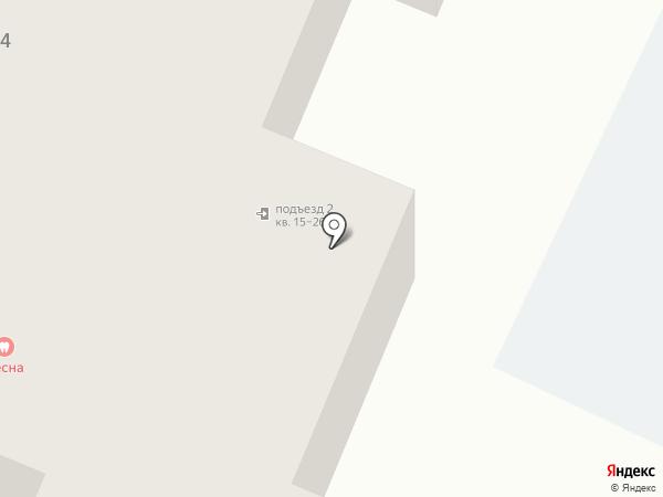 Ратель-медоед на карте Гатчины