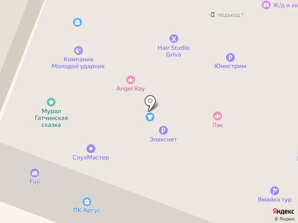 PobedaService на карте Гатчины
