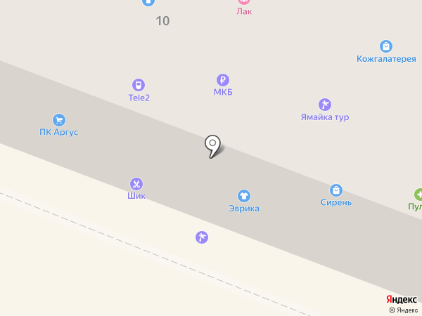 Суши шоп на карте Гатчины