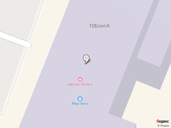 Лайм на карте Гатчины