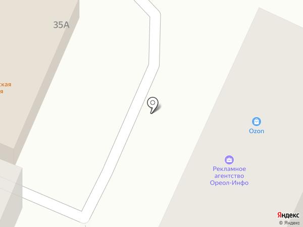Ореол-Инфо на карте Гатчины