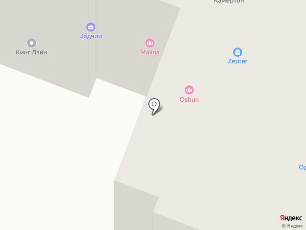 OShun на карте Гатчины