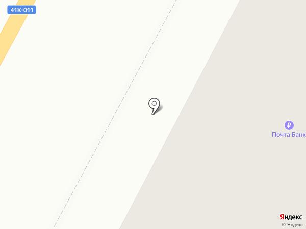 Почта России на карте Гатчины