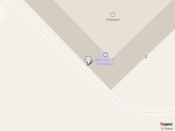 Ниеншанц на карте Гатчины
