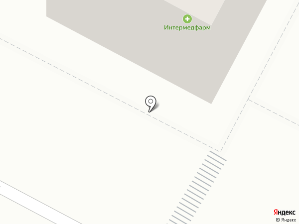 Интермедфарм-Гатчина, ЗАО на карте Гатчины