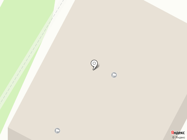 ДЮСШ №3 на карте Гатчины