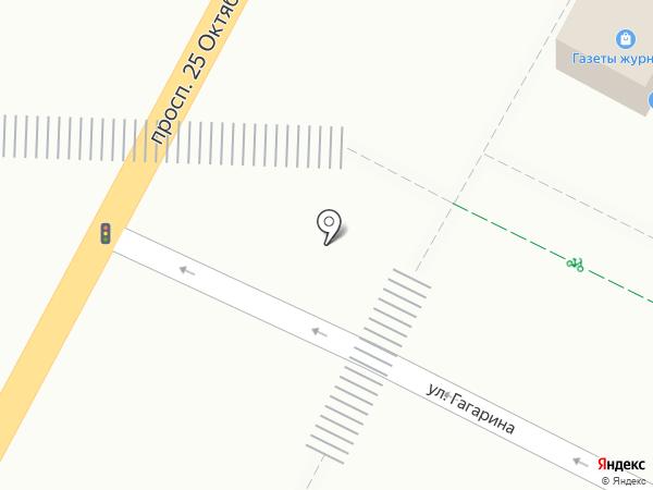 Невоблпечать на карте Гатчины