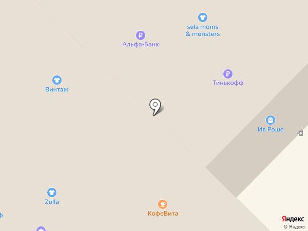 Северо-Западный Ломбард на карте Гатчины