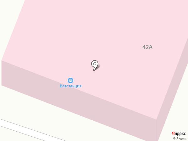 Государственная ветеринарная лечебница на карте Гатчины