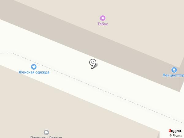 Лидер на карте Гатчины
