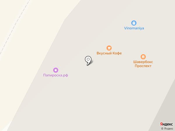 Yбукет на карте Гатчины