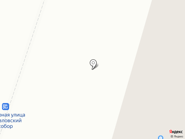 Итака на карте Гатчины