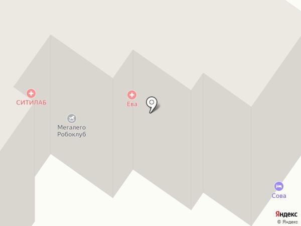 СОВА на карте Гатчины