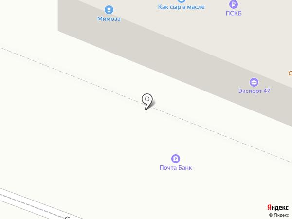 Почта Банк, ПАО на карте Гатчины
