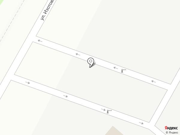 Атлетик Клуб на карте Гатчины