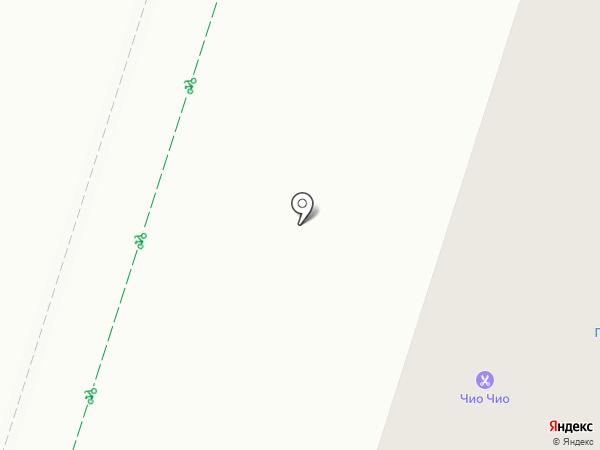 Лантан на карте Гатчины