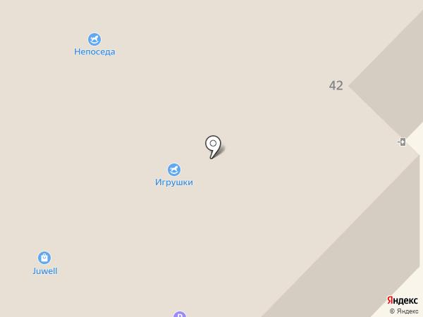 Большая лампа на карте Гатчины