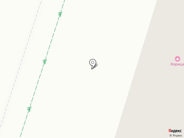 Рябинушка на карте Гатчины