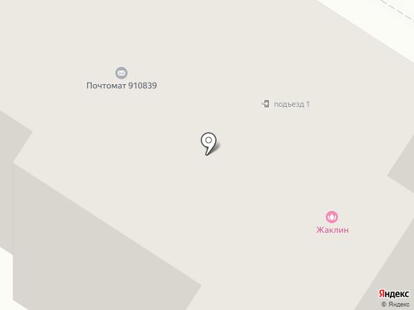 Жаклин на карте Гатчины