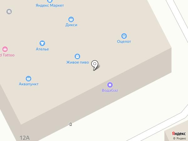 АкулаАвто на карте Гатчины