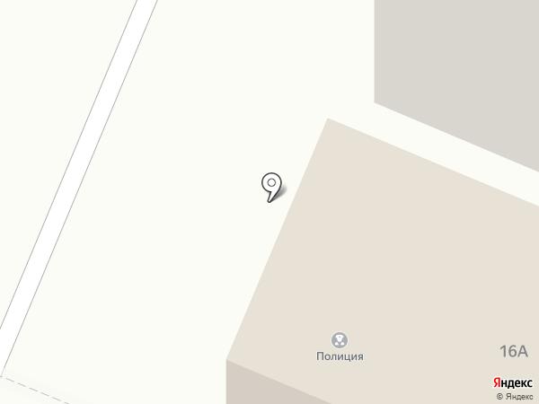 Отдел участковых уполномоченных полиции на карте Гатчины