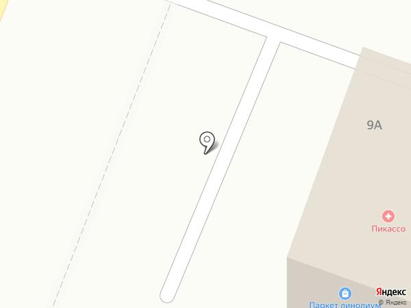 Евромастер на карте Гатчины
