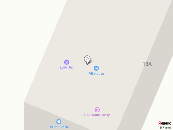 Шаг навстречу на карте Гатчины