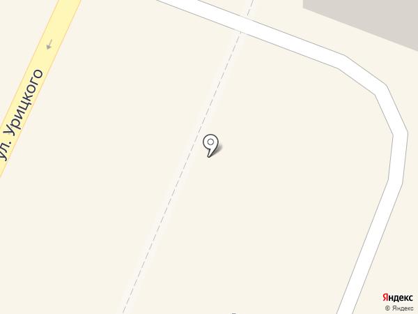 Полушка на карте Гатчины