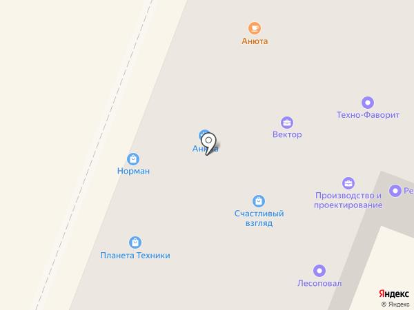 Техно-Фаворит на карте Гатчины