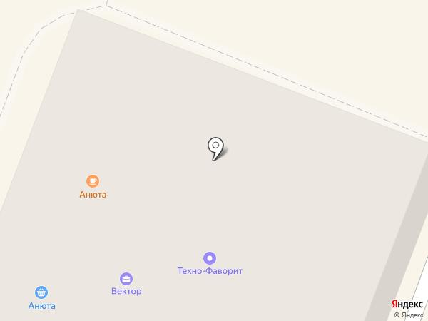 Счастливый Взгляд на карте Гатчины