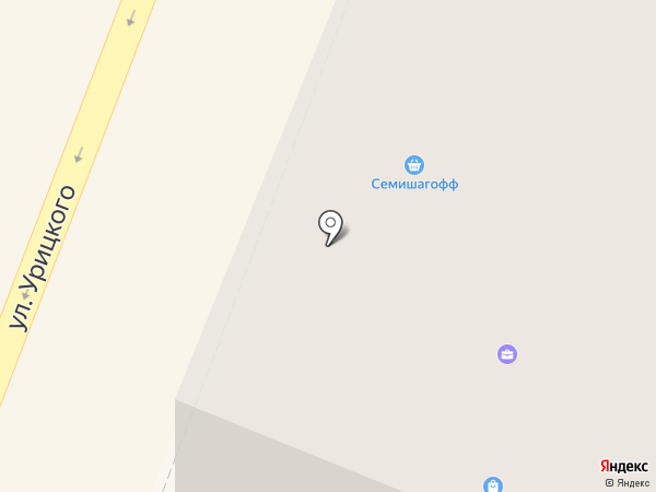 Нетто на карте Гатчины