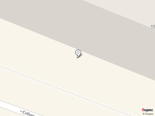 Сокол на карте Гатчины