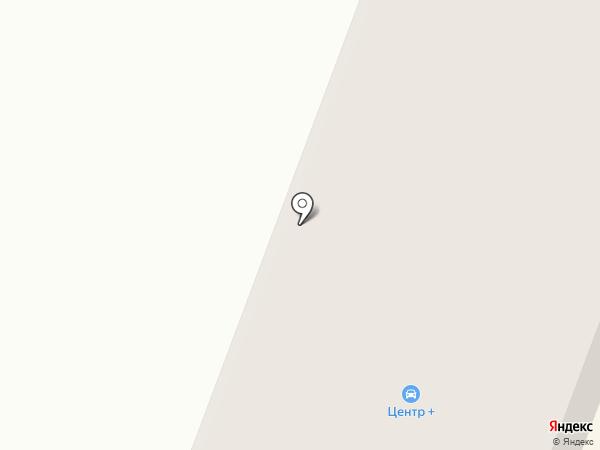 Центр+ на карте Гатчины