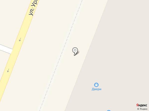 Магазин окон и дверей на карте Гатчины