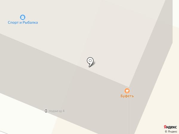 Магазин спортивных товаров на карте Гатчины