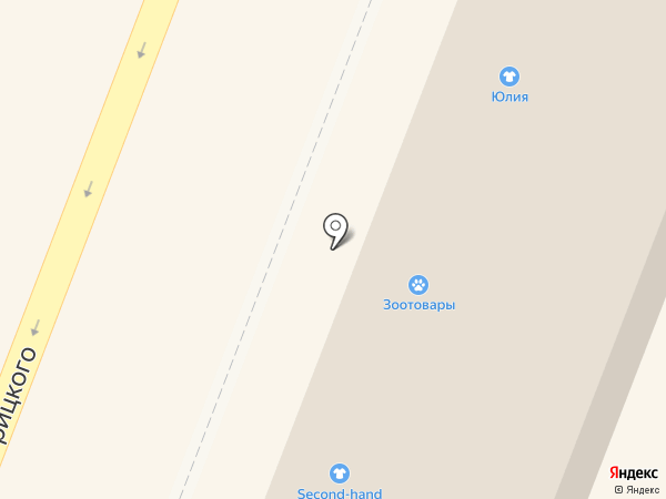 Юлия на карте Гатчины