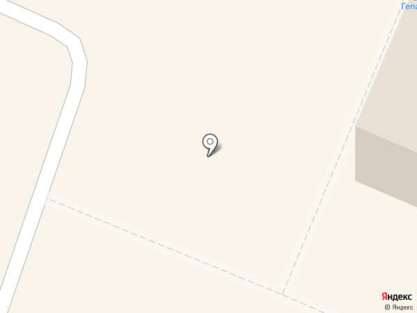 Гепард на карте Гатчины