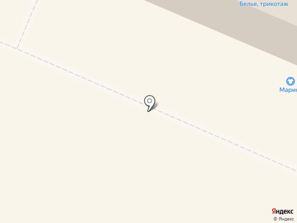 Марисс на карте Гатчины
