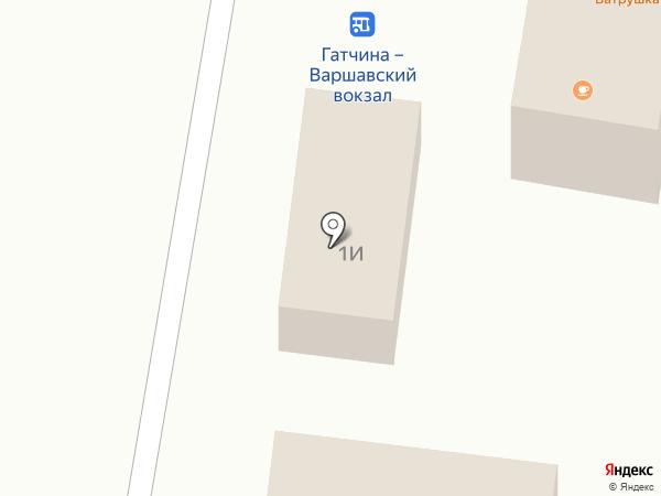 РосДеньги на карте Гатчины