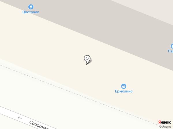 Ермолино на карте Гатчины