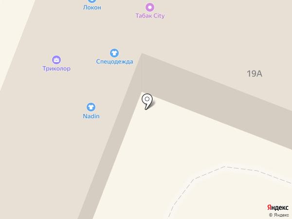 Надин на карте Гатчины