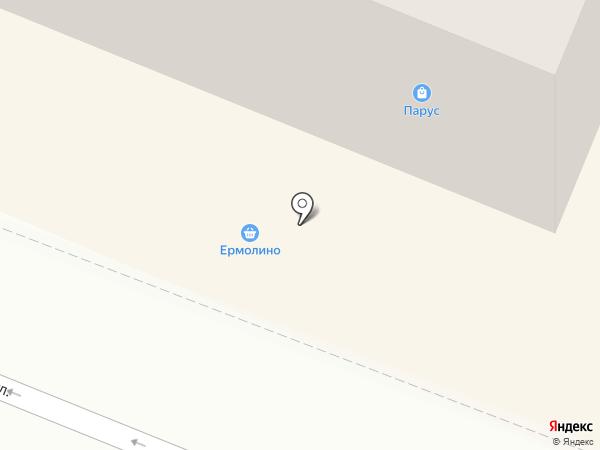 Парус на карте Гатчины